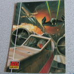Star Wars Galaxy 1993 Topps #16  the Death Star Trench